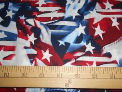 1 yard  Stars and Flags Patriotic Fabric