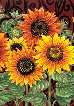 Toland Home Garden Sunflower Medley 12.5 x 18 Inch Decorativ