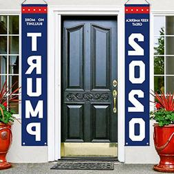 2020 Trump Flag - Garden Banners and Sign,Patriotic Outdoor
