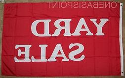 3'x5' Yard Sale Message Flag Outdoor Banner Business Adverti