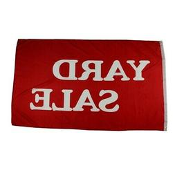3x5 Ft Yard Sale Flag 3 x 5 Banner 3'x5' Outdoor Advertising