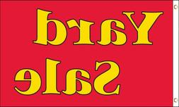 3x5 Yard Sale Flag 3 x 5 Banner 3'x5' Outdoor Advertising Re