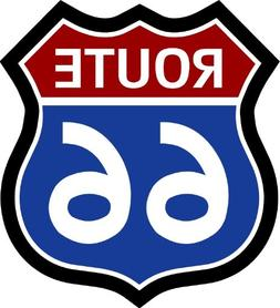 """ProSticker 811.18  18"""" Route 66 Series Junk Yard Flag Decal"""
