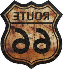 """ProSticker 813.18  18"""" Route 66 Series Junk Yard Flag Decal"""
