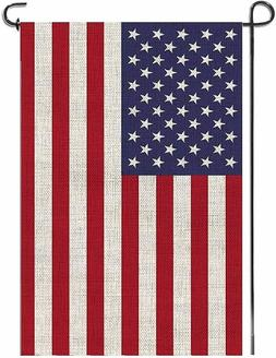 American Garden Flag Embroidered Stars Classic United States