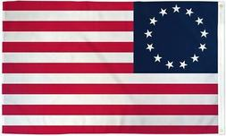 Betsy Ross Flag USA Historical 1776 Banner United States Ame