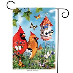 Briarwood Lane Endless Summer Cardinals Garden Flag Birds Bu