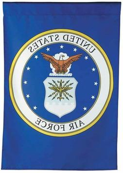 """Evergreen United States Air Force Garden Flag Size: 40"""" H x"""