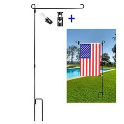 garden flag stand flagpole wrought