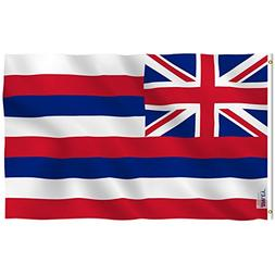Anley |Fly Breeze| 3x5 Feet Hawaii State Flag - Vivid Color