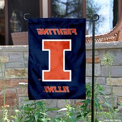 College Flags and Banners Co. Illinois Fighting Illini New L