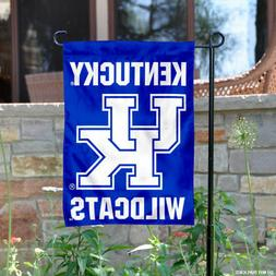 Kentucky UK Wildcats Wordmark Garden Flag and Yard Banner