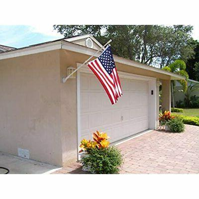 5FT Flag Steel Wall For Yard Weather (Only