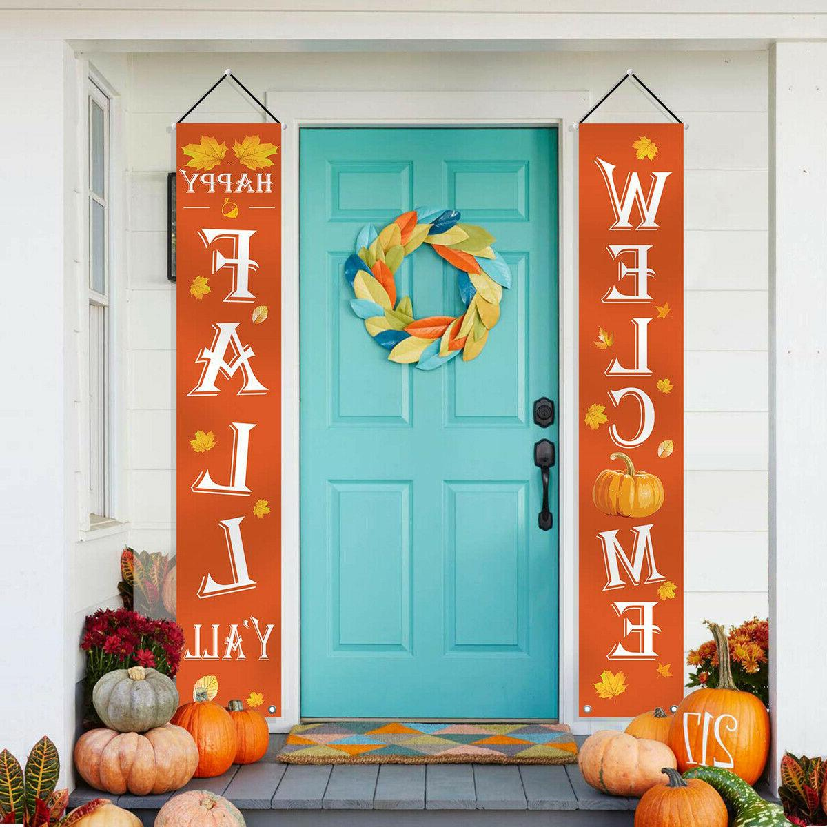 fall decorations welcome happy fall yard large