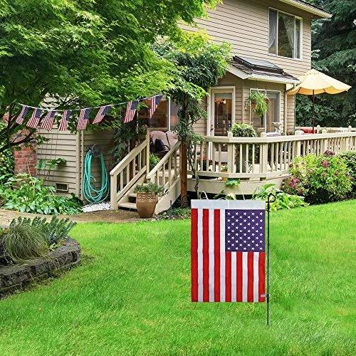 "Garden Garden 16.5""W For USA Flag Or Garden Flags Keep Your Flags from Winds"
