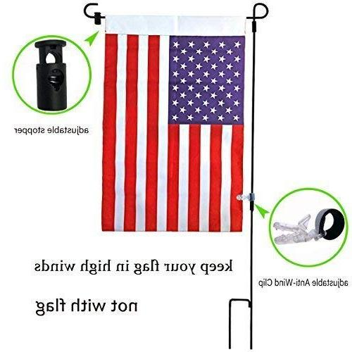 """Garden Stopper Anti-Wind 16.5""""W For Flag Or Garden Keep Your Flags Flying Away Winds"""