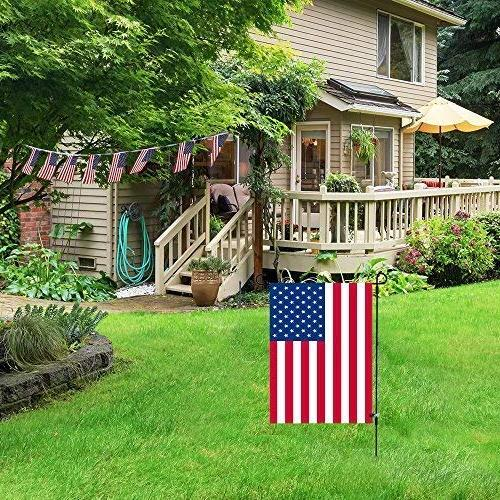 """Garden Stand-Holder-Pole Garden Anti-Wind 16.5""""W For Flag Or Season Keep Your Flying High Winds"""