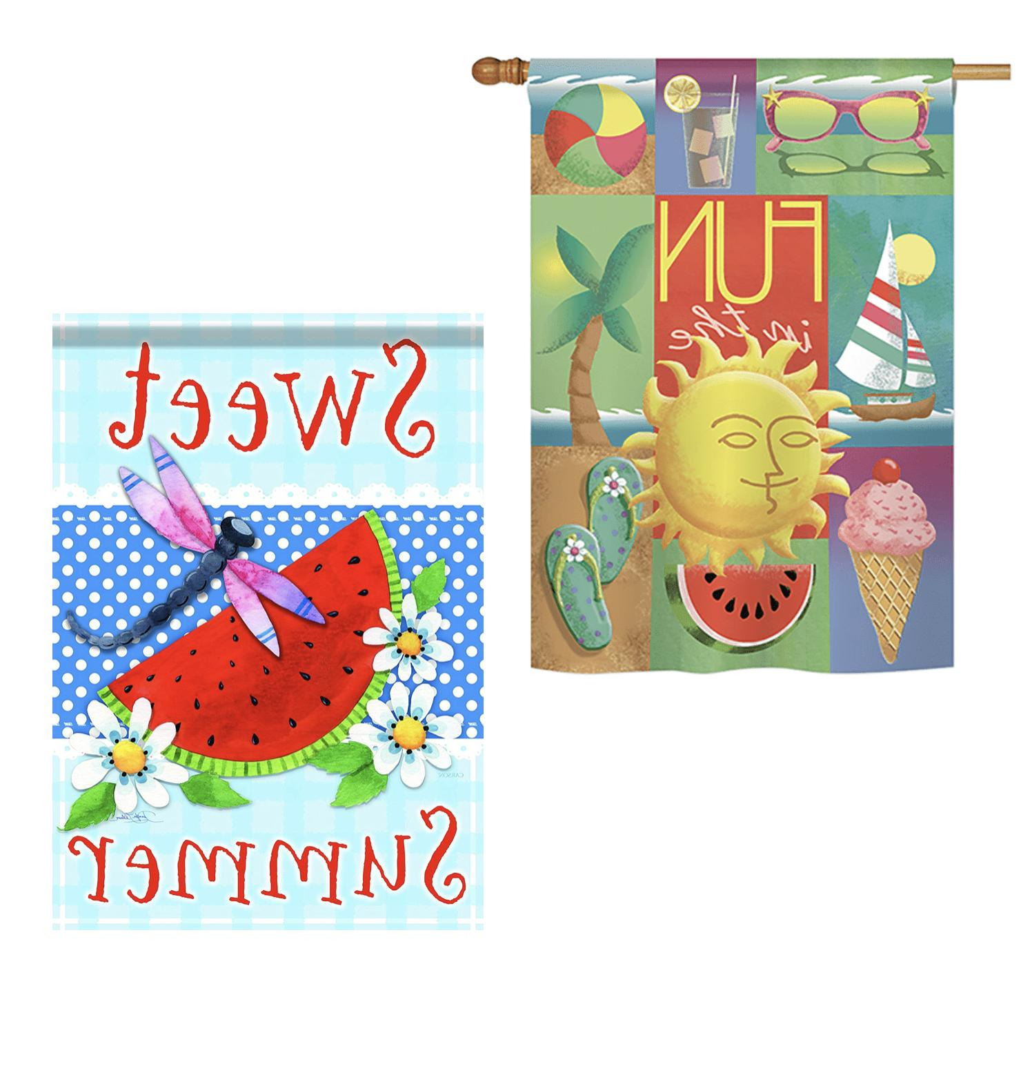 Premium Outdoor Flags 8 - Large Yard