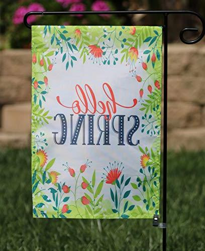 Happy Yard Garden Flag Outdoors | Set of 12 Artistically Designed Holiday Durable &