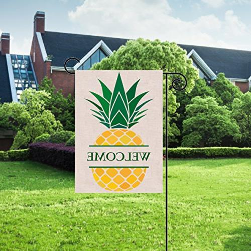 Welcome Pineapple Double-sided, Great Design Yard Your Home