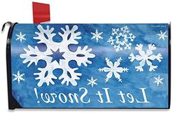 Briarwood Lane Let it Snow! Winter Magnetic Mailbox Cover Sn