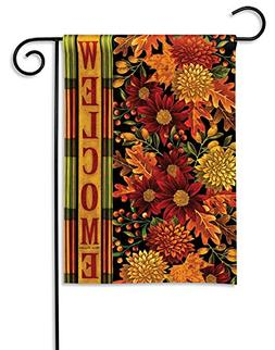 Magnet Works MAIL31047 Welcome Fall Garden Flag
