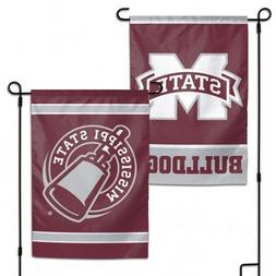 WinCraft NCAA Mississippi State Bulldogs 12x18 Inch 2-Sided