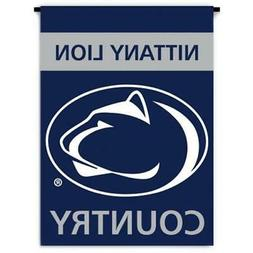 Ncaa Penn State Nittany Lions 2-Sided Country Garden Flag