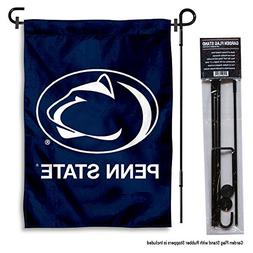 Penn State Nittany Lions Garden Flag with Stand Holder