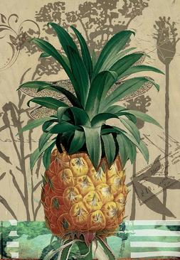 Morigins Pineapple Decorative Double Sided Summer Home Decor
