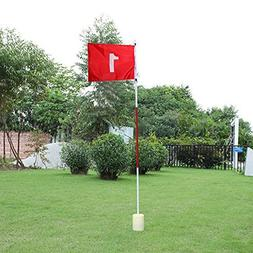 Practice Golf Putting Green Flags With Cup Backyard Golf Fla