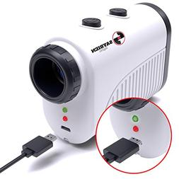 Saybien Rechargeable Golf Rangefinder with Slope - 1200m USB