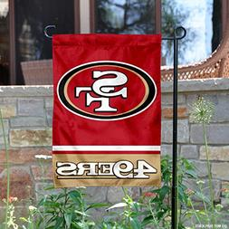 WinCraft San Francisco 49ers Double Sided Garden Flag