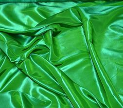 """Taffeta Fabric Solid FLAG GREEN / 58"""" Wide / Sold by the Yar"""