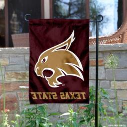 Texas State University Garden Flag and Yard Banner