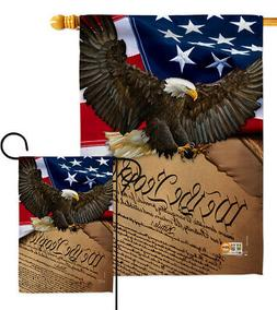 We the People Garden Flag Military Armed Forces Gift Small Y